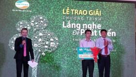 Tổng Công ty Viễn thông Viettel tổ chức Lễ trao giải nhất cho khách hàng