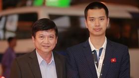 Nguyễn Bá Phước và ông Nguyễn Văn Đạo, nguyên lãnh đạo của Samsung Việt Nam