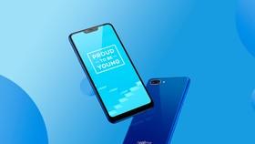Realme C1 phiên bản màu xanh