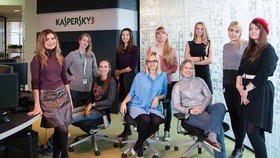 Kaspersky Lab luôn cam kết thúc đẩy sự nghiệp trong lĩnh vực an ninh mạng cho nữ giới