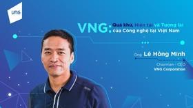 Ông Lê Hồng Minh, CEO VNG