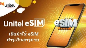 eSIM đã được Viettel cung cấp tại Lào