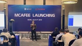 McAfee chính thức giới thiệu gói giải pháp mạng tại sự kiện