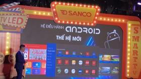 SANCO giới thiệu tivi tại thị trường Việt Nam