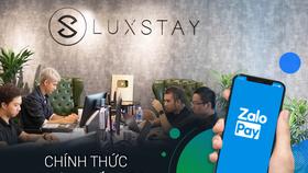 Luxstay và ZaloPay chính thức hợp tác chiến lược