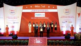 MobiFone vinh dự có mặt trong Top 500 doanh nghiệp có lợi nhuận tốt nhất Việt Nam năm 2019