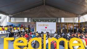 Gần 40,000 sinh viên tham dự Đại nhạc hội Realme Connection