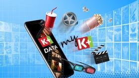 Giải trí cùng kho phim, video với K+ Data của MobiFone