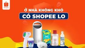 """Shopee khởi động chương trình """"Ở nhà không khó, có Shopee lo"""""""