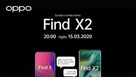 OPPO Find X2: Ra mắt trực tuyến vào chủ nhật 15-3