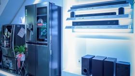 Các thiết bị mới nhất của LG tại Showroom Vinhomes Gardenia Hà Nội