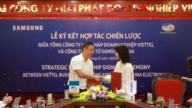 Viettel và Samsung chính thức ký kết hợp tác chiến lược