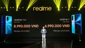 Realme 7 và 7 Pro bán độc quyền tại Thế giới di động