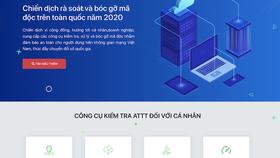 Người dùng Việt Nam được sử dụng phần mềm phòng chống mã độc miễn phí tại website https://khonggianmang.vn
