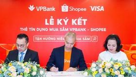 Shopee hợp tác cùng VPBank và Visa ra mắt thẻ tín dụng VPBank - Shopee