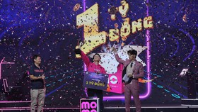 Người chơi Học viện MoMo Chu Hoàng Phương giành lấy giải thưởng lên đến 1 tỷ đồng