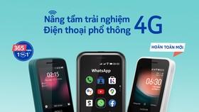 Nokia ra mắt 3 dòng điện thoại phổ thông mới