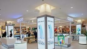 Cửa hàng trải nghiệm chính hãng thứ 9 của OPPO toạ lạc tại tầng 3, trung tâm Aeon Mall Hải Phòng, quận Lê Chân, TP Hải Phòng