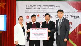 Ngôi làng hy vọng là chương trình ý nghĩa do LG và Habitat for Humanity thực hiện