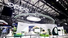 Một góc triển lãm của OPPO tại MWC Thượng Hải 2021