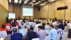 Hội nghị có sự tham gia của gần 100 đối tác tại Việt Nam