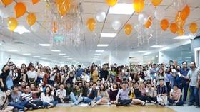 POPS WORLDWIDE Việt Nam gồn những nhận viên trẻ trung, năng động