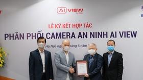 Bkav và Biển Bạc hợp tác phân phối camera an ninh AI View