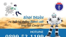 Bình Thuận đã nhanh chóng  triển khai Robot Call