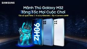 Samsung Galaxy M32 được mở bán với số lượng máy giới hạn
