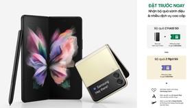 Samsung Vina chính thức khởi động chương trình đặt hàng trước Galaxy Z Fold3 5G và Galaxy Z Flip3 5G
