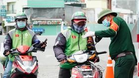 Tài xế Gojek tham gia vận chuyển lương thực, thực phẩm khi giãn cách xã hội