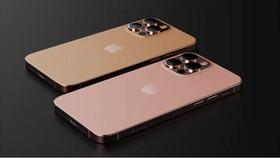 iPhone 13 Pro Max là màu da cam (Sunset Gold) và màu vàng hồng (Rose Gold).
