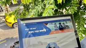 VNPT E Leaning trên máy tính bảng với nhiều tính năng hỗ trợ học tập