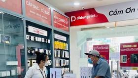 Cửa hàng Di Động Việt tại TPHCM đã đón khách