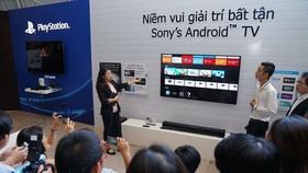 Sony trình làng dòng TV 4K HDR mới