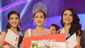 Phút đăng quang của Hoa hậu Đại dương