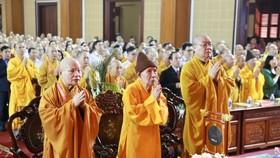Hơn 3.000 tăng, ni, phật tử và đại biểu tham dự buổi lễ
