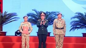 Lễ xuất quân Bệnh viện dã chiến cấp 2 số 2 lên đường thực hiện nhiệm vụ gìn giữ hòa bình