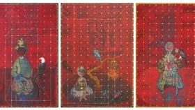 """""""Màu dân tộc"""" trong những tác phẩm đương đại của họa sĩ Bùi Thanh Tâm"""