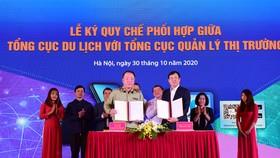 Tổng cục Du lịch và Tổng cục Quản lý thị trường ký kết quy chế phối hợp bảo vệ du khách