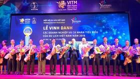 Tôn vinh các doanh nghiệp và cá nhân tiêu biểu năm 2019 của Du lịch Việt Nam