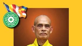 Đại lão Hòa thượng Thích Phổ Tuệ - Pháp chủ Giáo hội Phật giáo Việt Nam viên tịch