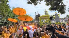 Trang nghiêm lễ tưởng niệm Đại lão Hòa thượng Thích Phổ Tuệ
