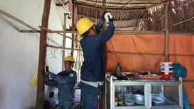 Tuổi trẻ ngành điện TPHCM thực hiện nhiều hoạt động tình nguyện tại đảo Thổ Chu