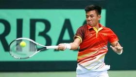 Lý Hoàng Nam sẽ là tay vợt chủ lực của Việt Nam tại Davis Cup.