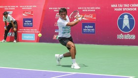 Tay vợt Lý Hoàng Nam luôn là niềm hy vọng của quần vợt Việt Nam.