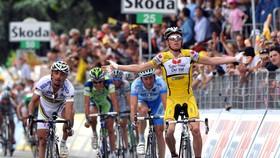 Riccardo Ricco từng giành 2 chặng thắng tại Tour de France 2008.
