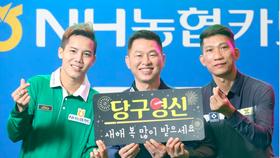Ba cơ thủ Việt Nam dự PBA Tour. Ảnh: PBA