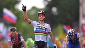 Peter Sagan 7 lần mặc Áo xanh Tour de France