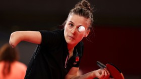 Natalia Partyka ở trận ra quân tại Olympic Tokyo